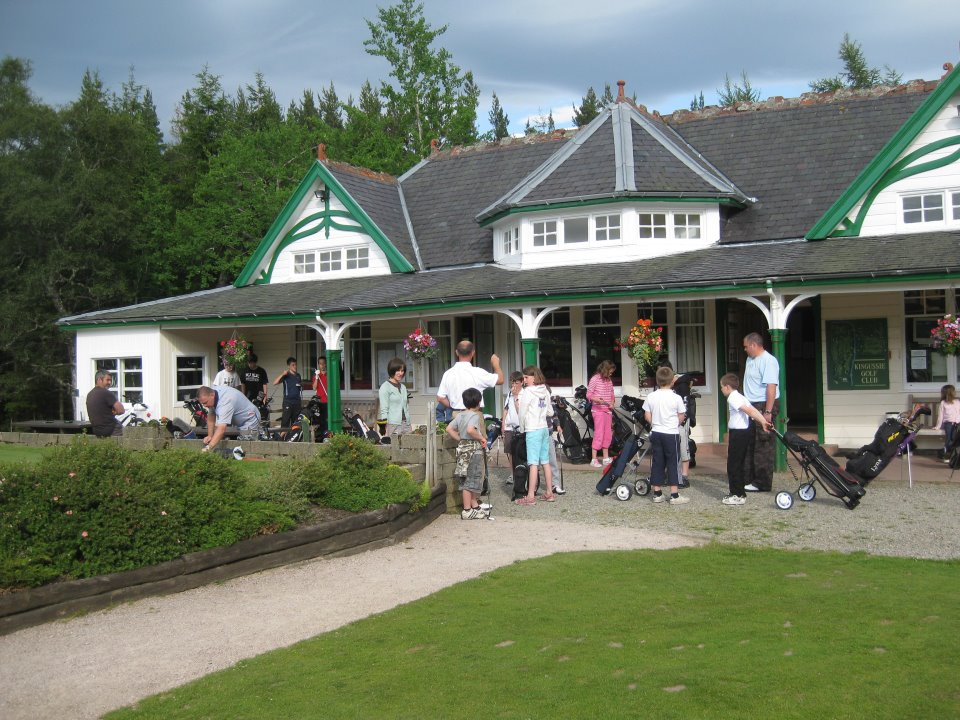 Juniors at the Clubhouse